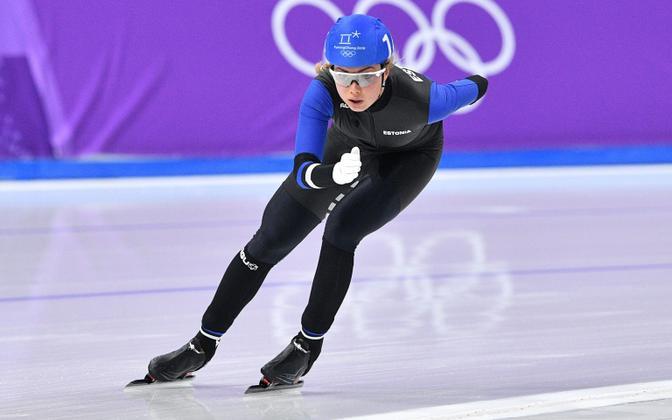 Пик карьеры Саскии Алусалу - зимняя Олимпиада 2018 года.