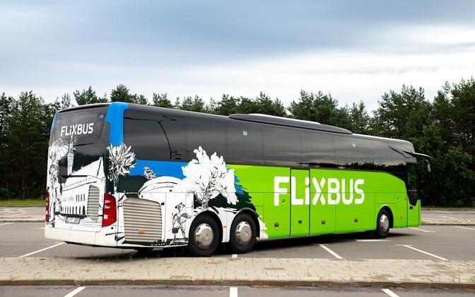FlixBus вышел на эстонский рынок в 2020 году.