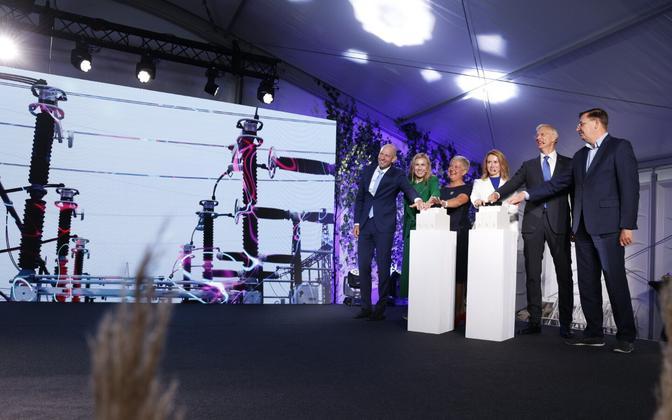 Prime Minister Kaja Kallas and the Latvian head of government Krišjānis Kariņš opened the third Estonian–Latvian electricity connection on August 25, 2021.