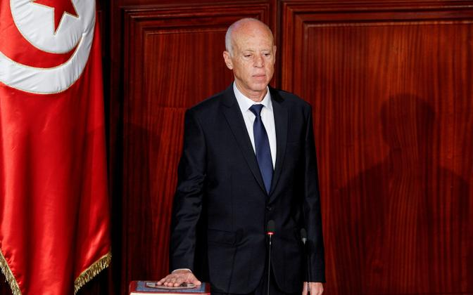 Tuneesia president Kais Saied