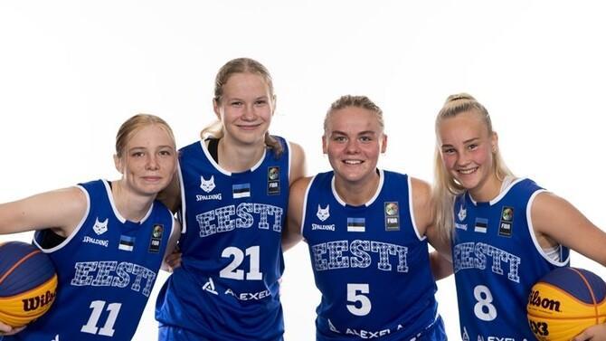 Eesti U-18 neidude 3x3 korvpallikoondis