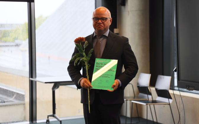Ajalookirjanduse aastapreemia sai Igor Kopõtin.