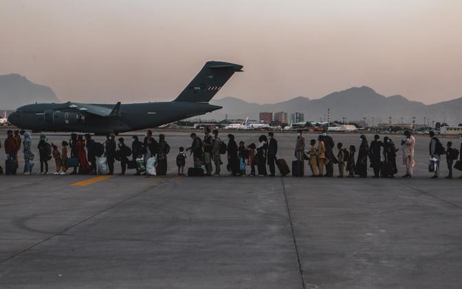 Аэропорт Кабула.
