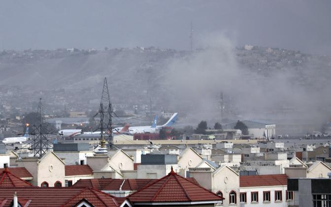 У аэропорта в Кабуле произошел взрыв.