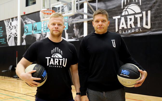 Esko Tõnisson (vasakul) ja Gert Prants (paremal).