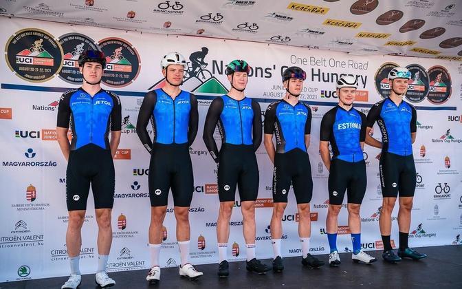 Eesti juunioride jalgrattakoondis.