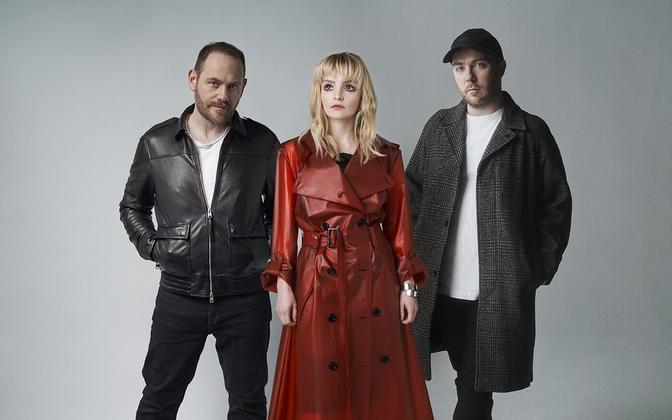 Šotimaalt pärit trio Chvrches.