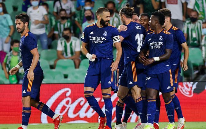 Madridi Real suutis palli vastaste väravasse toimetada ühel korral.