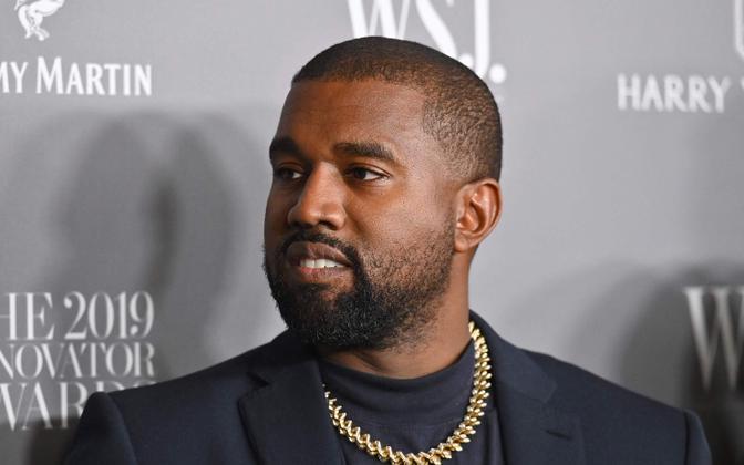 Muusik Kanye West.