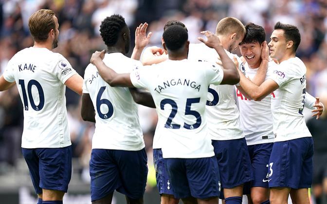 Tottenham Hotspuri mängijad