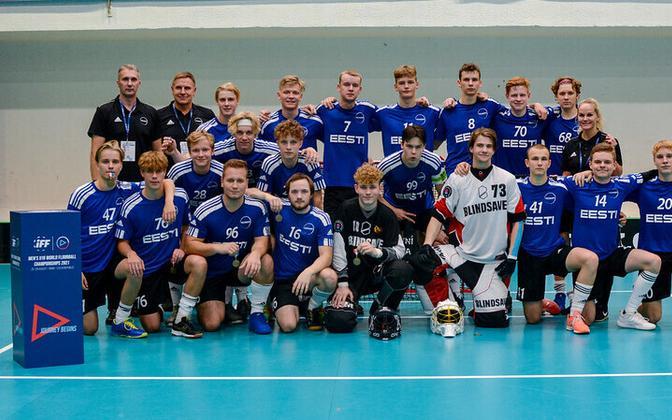 Eesti U-19 noormeeste saalihokikoondis
