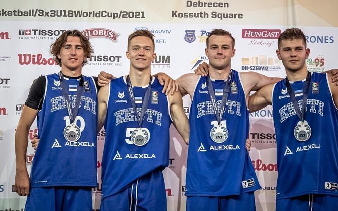 Eesti U-18 noormeeste 3x3 korvpallikoondis