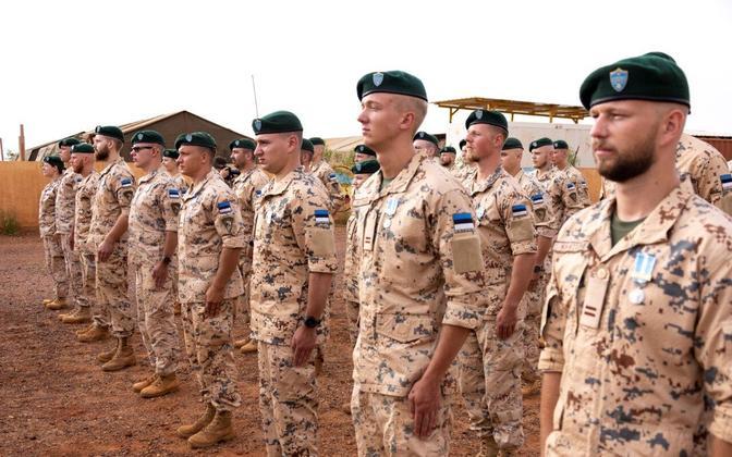 EDF personnel in Mali.