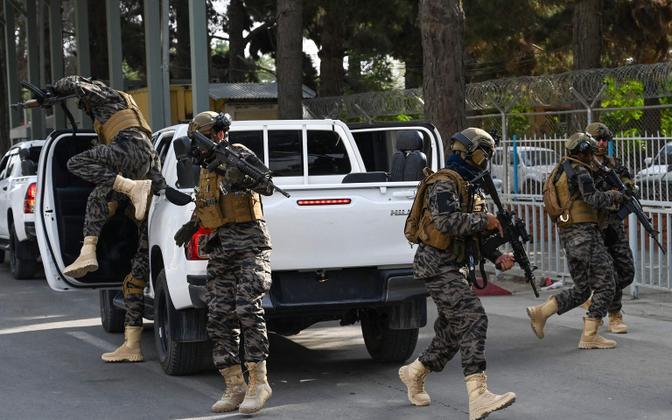 Talibani eriüksused Kabulis