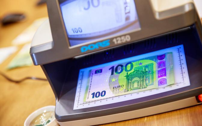 100-eurone rahatäht.