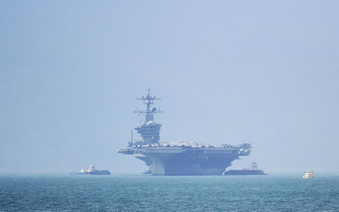 USA lennukikandja USS Carl Vinson