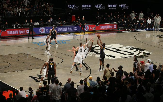 Brooklyn Netsi koduareen Barclays Center.