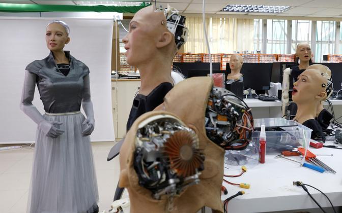 Inimsarnane robot Sophia.