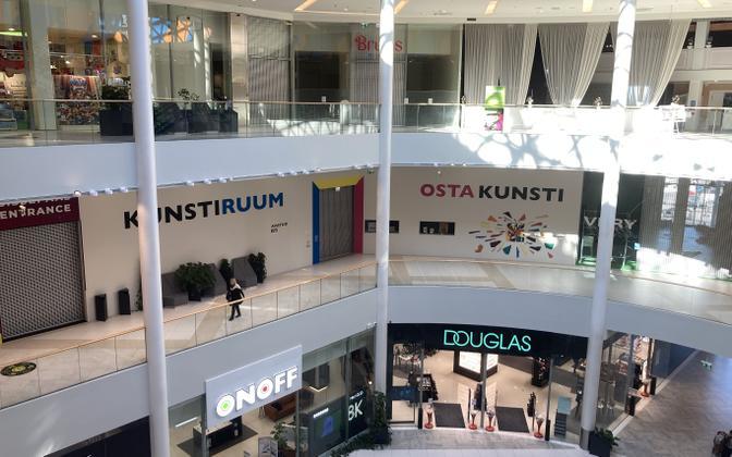 T1 Mall of Tallinn on September 2, 2021.