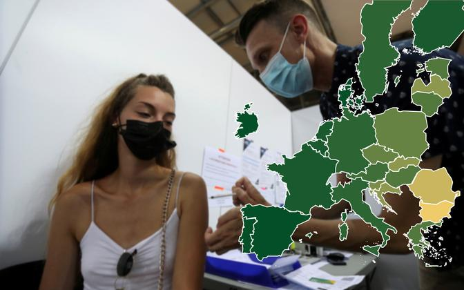 Pehmed sunnimeetmed on vaktsineeritute osakaalu Prantsumaal märgatavalt kasvatanud, kuid toonud tänavatele ka meeleavaldused.