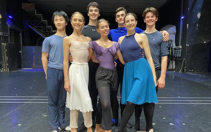 Vanemuise teatri balletitrupiga liitus seitse uut balletiartisti