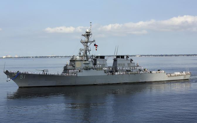 USS Arleigh Burke (DDG 51).