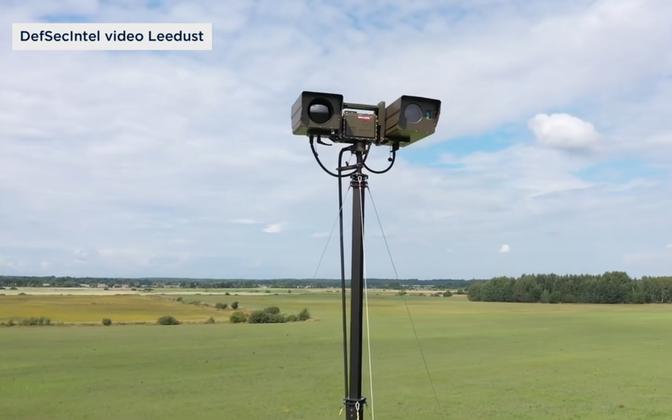 DefSecIntel mobile cameras on the Lithuanian border.