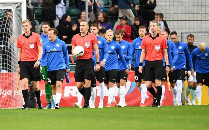Jalgpalli maavõistlus Eesti - Põhja-Iirimaa