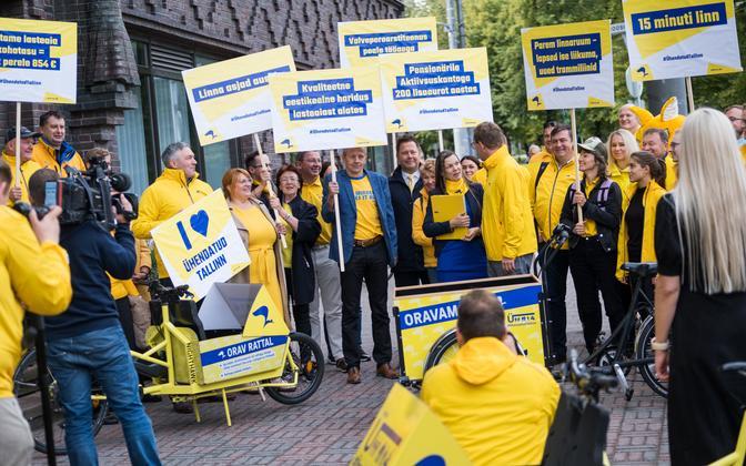 The Reform Party in Tallinn.
