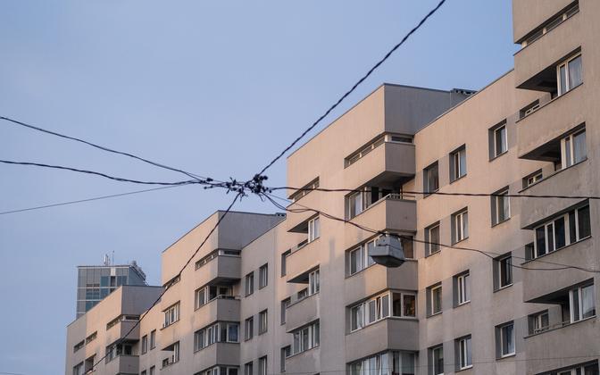 Apartment blocks in Estonia (photo is illustrative).