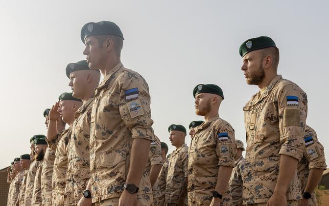 Очередное эстонское подразделение приступило к службе в Мали.