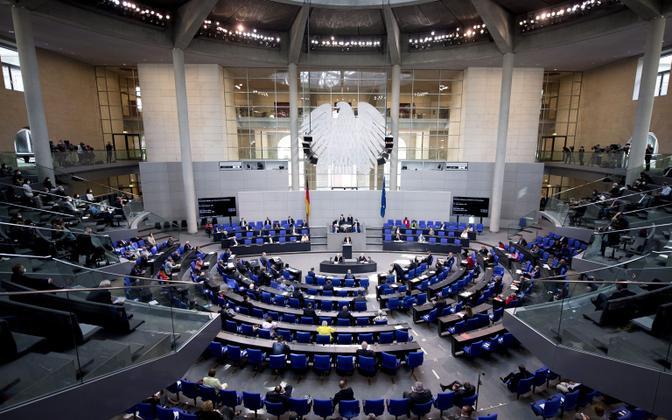 Saksamaa parlament Bundestag.