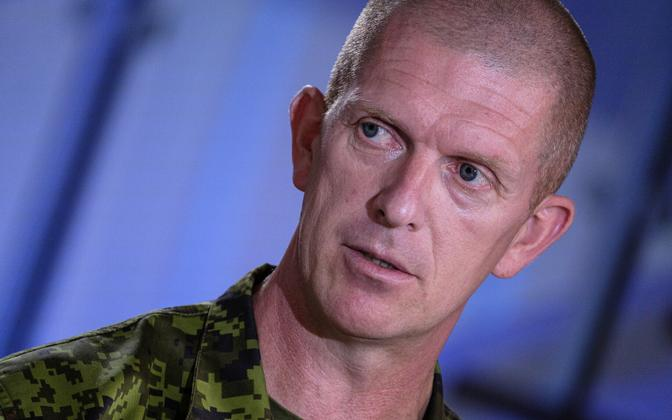 Lt. Gen. Martin Herem on Friday''s 'Otse uudistemajast'.