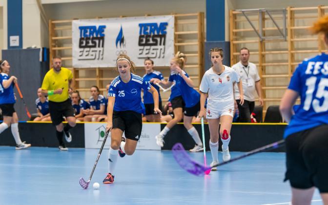 Eesti U19 tütarlaste saalihokikoondis