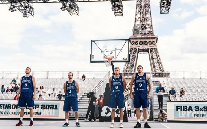 Eesti 3x3 korvpallikoondis Pariisis toimuval EM-il