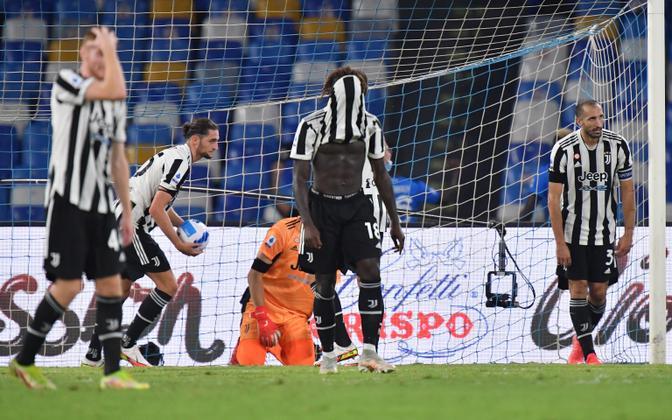 Juventus kaotas Napolile