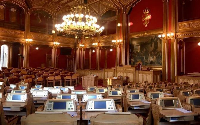 Norra parlamendi istungisaal.