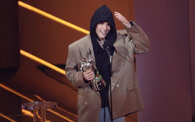 Джастин Бибер выиграл премию MTV Video Music Awards.
