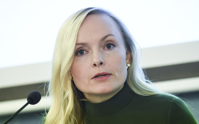 Председатель Зеленого союза Мария Охисало.