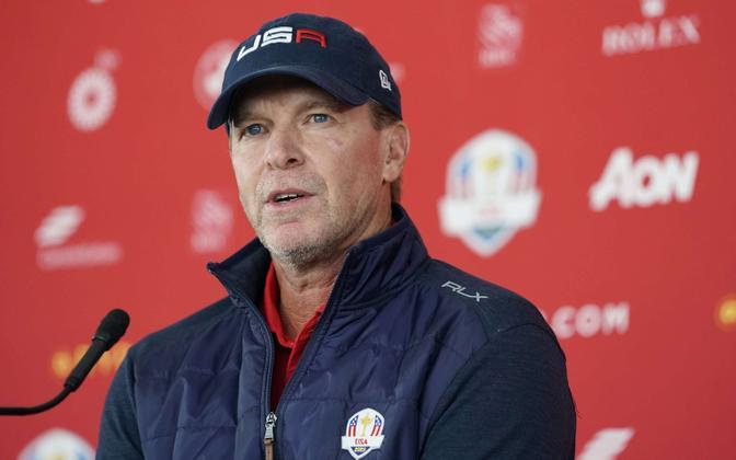 USA meeskonna kapten Steve Stricker