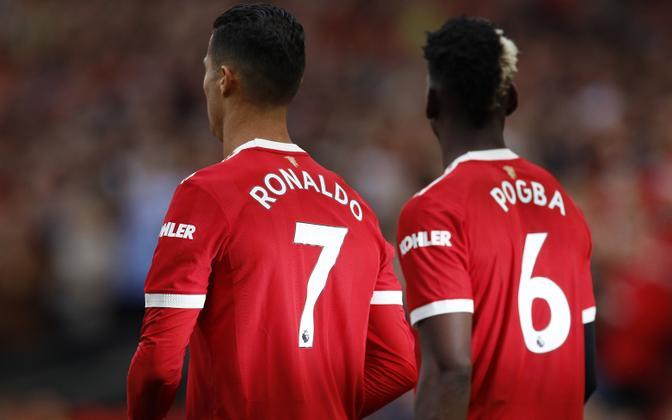 Cristiano Ronaldo ja Paul Pogba