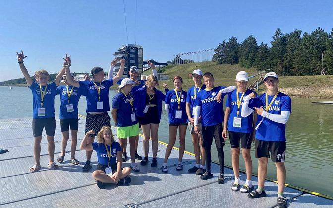 Eesti noored aerutajad Tšehhis toimunud võistlustel