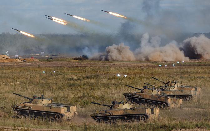 Стратегические учения вооружённых сил России и Беларуси проводятся раз в два года.