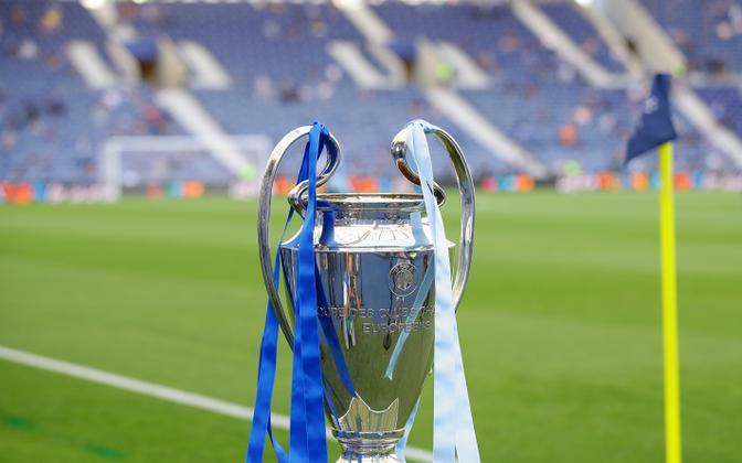 UEFA Meistrite liiga karikas.