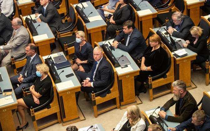 Riigikogu Reformierakonna ja Keskerakonna fraktsioon