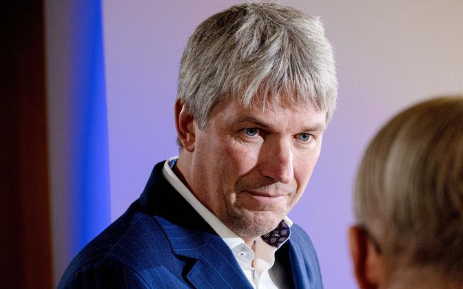 Viru Keemia Grupp (VKG) board chairman Ahti Asmann.