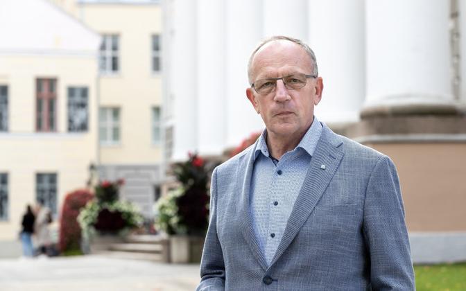 Tartu Ülikooli rektor Toomas Asser.