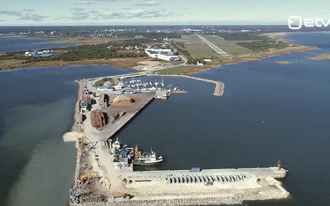 Порт Роомассааре расширят.