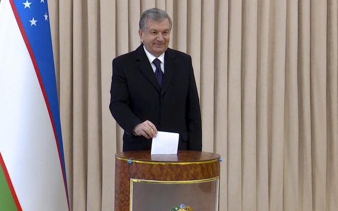 Usbekistani president Šavkat Mirzijojev