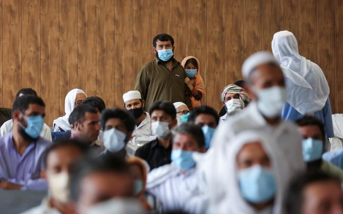 Afgaanide põgenikelaager Iraanis.